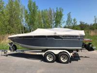 Please call owner Joe at . Boat is in Syracuse, New