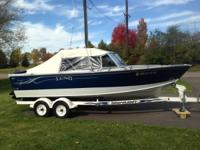 Please call owner Steve at . Boat is in Vadnais