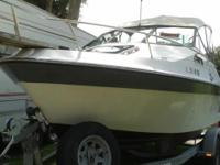 Please call owner Jim at . Boat is in Fort Meade,