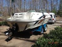 Please call owner Regina at . Boat is in Cookeville,