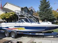 Please contact boat owner Mike at . 2002 Moomba Mobius