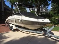 Please call owner Dennis at . Boat is in Myrtle Beach,