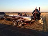 Please call owner Howard at . Boat is in Carthage