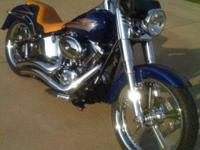 This is my 2007 Harley-Davidson Custom FatBoy in
