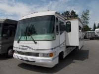 1998 TIFFIN ALLEGRO BAY 34 W/SLIDE-OUT, , this gas