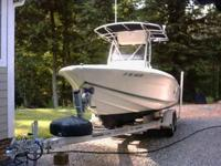 Well cared for 2004 Scout 210 Sportfish center console