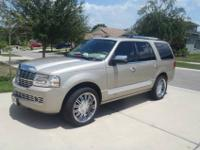 This is a Lincoln Navigator ultimate with all the