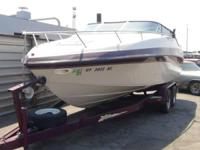 This 1997 21' Crownline Boat is in Great Condition!
