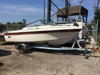 21' Cruisers cuddy cabin   Solid hull  Needs engine and