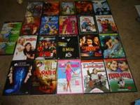 have 21 dvd movies that were trying to sell need the
