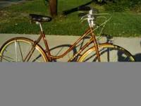 "Copper 21"" female Schwinn World Tourist with butted"