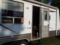2008 -  21 foot pull behind camper will to trade for