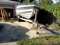 Parting out 1986 21 ft Bayliner Capri, windshield, good