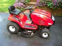 2006 Troybuilt 21hp lawnmower Model T609, excellent