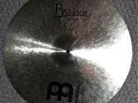 "I'm selling a 21"" Meinl Byzance Medium Ride in a"