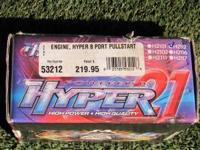 This is a brand new 8 port Hyper 21 engine. You can box