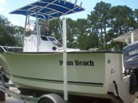Like brand-new 21' Palm Beach with 150 Yamaha 2 stroke.