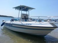 21' Renken Center Console Boat 150HP Yamaha Outboard