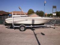 21' Walk around Sea Ray Hull NO engine for more info