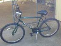 21-speed adult mountain bike. Nice to ride, new comfort
