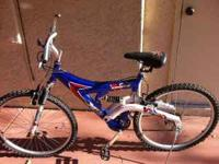 Barely used 21-speed Xenith Mountain Bike. Asking for