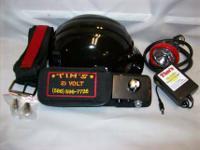 Tim's 21 volt belt light with 5100 head, spotlight and