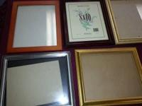 21 x Quality Picture Frames All Sizes and Textures