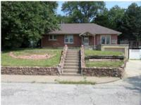 Nice brick home with a full basement. Lots of natural