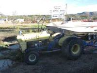 Tractor runs good. It is a gas tractor. Appx 40 horse