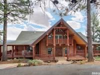 Unique log built home in the majestic town of Colfax. A