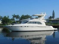 1998 Sea Ray 48 SEDAN BRIDGE Loaded with options and