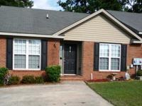 End unit close to everything in Grovetown. And just