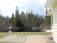 Secluded Upper Michigan River Cabin for Sale! This