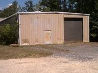 Description GROUND LEVEL METAL WAREHOUSE WITH 500 SF OF