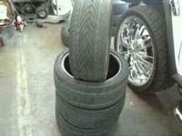 4 Kuhmo 215-40-17 tires they have a few miles left on