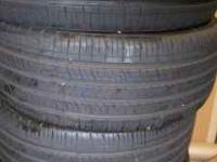 For Sale 4 Kumho Solus KH 16 Tires Blk sidewall size