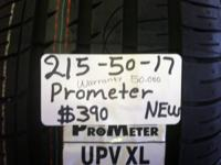 I Have A Set Of 4 (215-50-17) PROMETER NEW TIRES At The