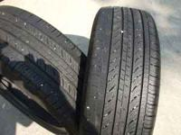 These are real nice , clean tires ,with alot of tread