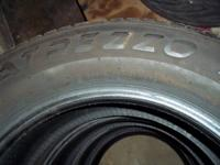 I have a set of 215/60/16 tires in great shape. The