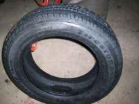 1 Firestone tire like brand new 215/60r17 no more than