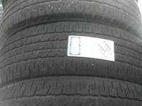 WE HAVE A SET OF 4 GOOD USED 215/60R17 FIRESTONE