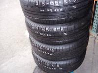 Selling a set of 4 Tires    215-65-R16    Nexen  95%