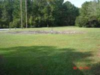 Large lot for rent in a quiet mobile home park located
