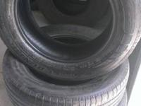 WE HAVE A SET OF 4 GOOD USED 215/60R16 DUNLOP SPORT