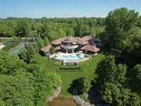 Located on Clear Lake and set on more than 13 acres