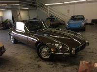 This 1972 Jaguar XKE V12 2+2 is desirable 5-speed