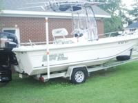Values Print This boat is a 2008 Carolina Skiff Elite -