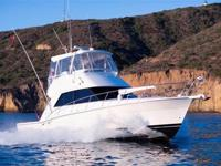 This 39' Riviera is a true west coast sportfisher