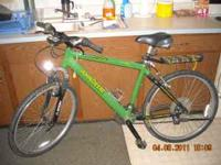 John Deere 21 speed Mtn bike, great condition. $500