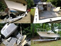 Hi,  I'm selling my '85 21ft Seaway with free trailer